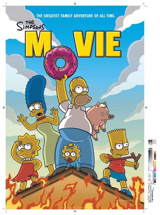 Die Simpsons - Der Film - Plaktmotiv - Bildquelle: 2007 Twentieth Century Fox Film Corporation