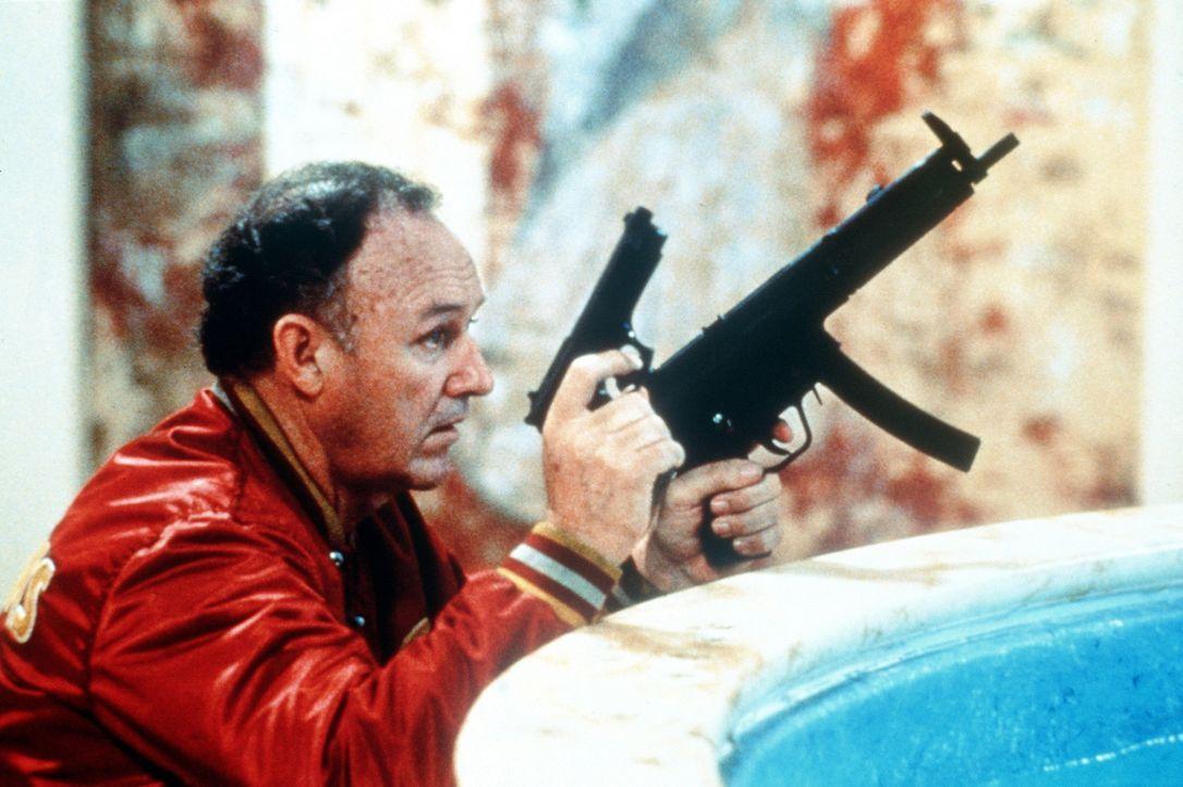 Der Polizist Mac (Gene Hackman) ist ein Haudegen wie er im Buche steht. Mit ihm sollte man sich besser nicht anlegen ... - Bildquelle: TriStar Pictures