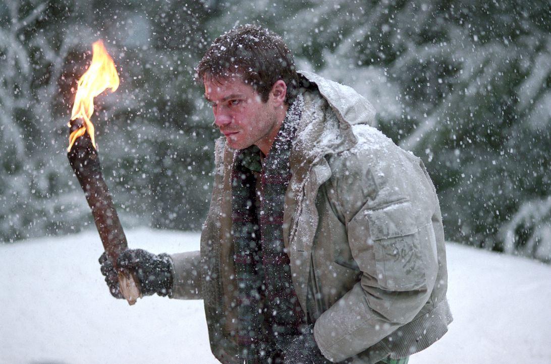 Zuerst müssen sich Pete (Timothy Olyphant) und seine Freunde mit einem verirrten Jäger herumschlagen, und dann bricht auch noch ein schwerer Schnees... - Bildquelle: Warner Bros.