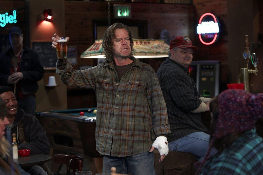 Seine Affäre mit Karen ist vorbei, doch Frank (William H. Macy) hat trotzdem viel Dreck am Stecken ... - Bildquelle: 2010 Warner Brothers