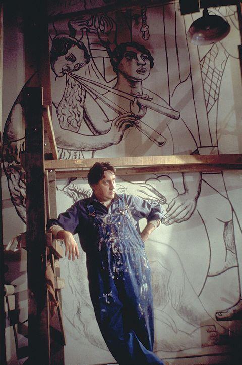 Nachdem Frida wieder laufen kann, lernt sie den Mann kennen und lieben, der ihr Leben bestimmen wird: den großen mexikanischen Wandmaler Diego Rive... - Bildquelle: Buena Vista International