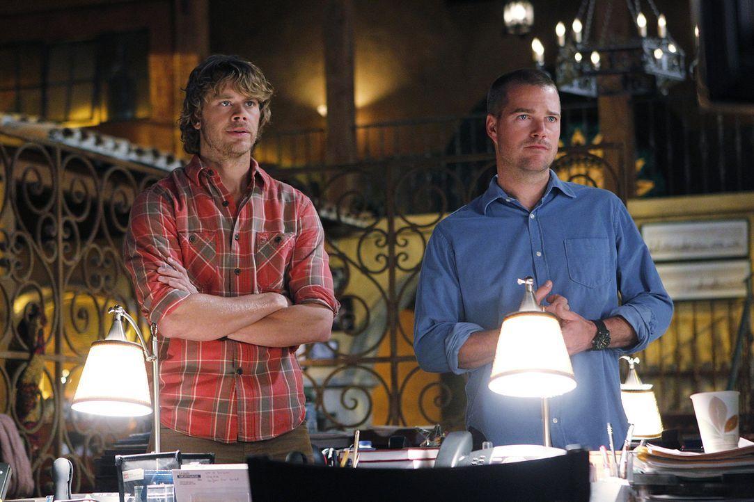 Ermitteln undercover in einem neuen Fall: Callen (Chris O'Donnell, r.) und Deeks (Eric Christian Olsen, l.) ... - Bildquelle: CBS Studios Inc. All Rights Reserved.