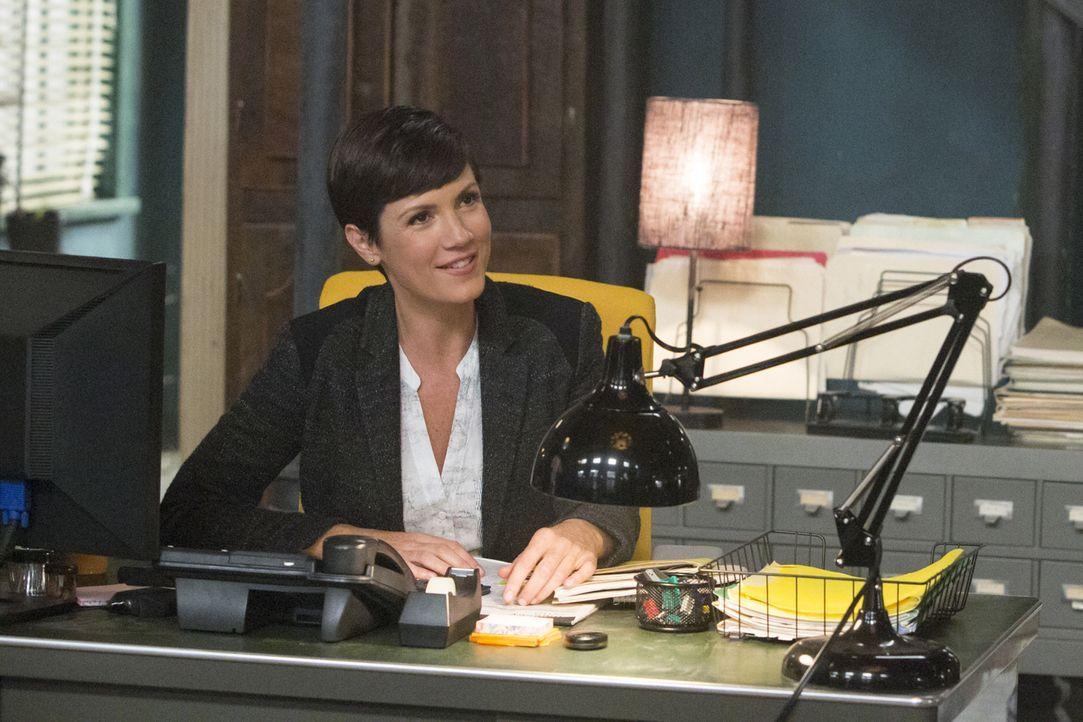 Gibt alles, um einen Mordfall aufzudecken: Brody (Zoe McLellan) ... - Bildquelle: 2014 CBS Broadcasting Inc. All Rights Reserved.