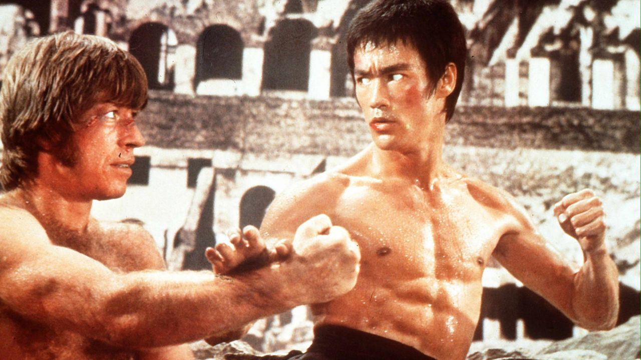 "Bruce Lee in ""The Way of the Dragon"" - Bildquelle: AFP"