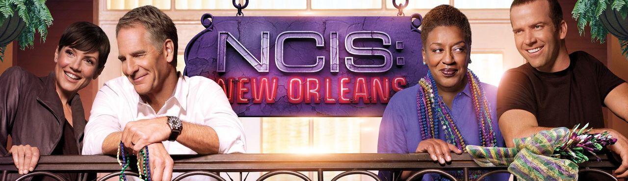 (1. Staffel) - Das Team um Special Agent Dwayne Cassius Pride (Scott Bakula, 2.v.l.), Special Agent Christopher LaSalle (Lucas Black, r.), Special A... - Bildquelle: 2014 CBS Broadcasting Inc. All Rights Reserved.