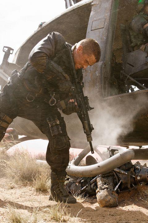 Der Widerstand hat einen Namen: John Connor (Christian Bale)! Er ist der Anführer und einzige Hoffnungsträger der menschlichen Rebellion im zukünfti... - Bildquelle: 2009 T Asset Acquisition Company, LLC. All Rights Reserved.