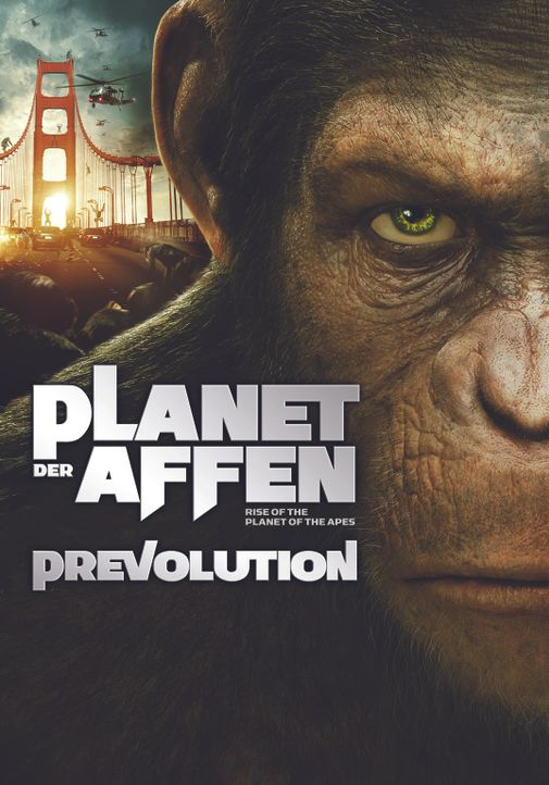 PLANET DER AFFEN: PREVOLUTION - Plakatmotiv - Bildquelle: 2011 Twentieth Century Fox Film Corporation. All rights reserved.