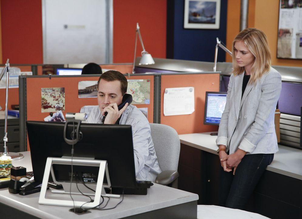 Im Kampf gegen das Böse: Bishop (Emily Wickersham, r.) und McGee (Sean Murray, l.) ... - Bildquelle: Monty Brinton CBS Television