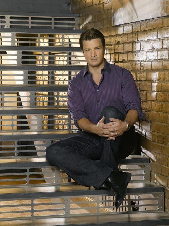 (3. Staffel) - Wenn Richard Castle (Nathan Fillion) sich etwas in den Kopf gesetzt hat, ist es sehr schwer ihn davon abzubringen ... - Bildquelle: ABC Studios