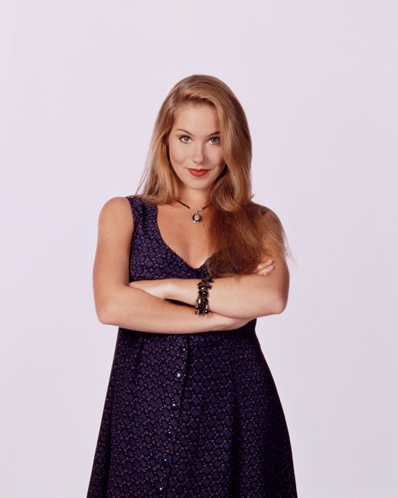 (8. Staffel) - Kelly Bundy (Christina Applegate) ist zwar mit hervorstechenden Formen gesegnet, dafür wurde beim Verstand gespart. - Bildquelle: Sony Pictures Television International. All Rights Reserved.