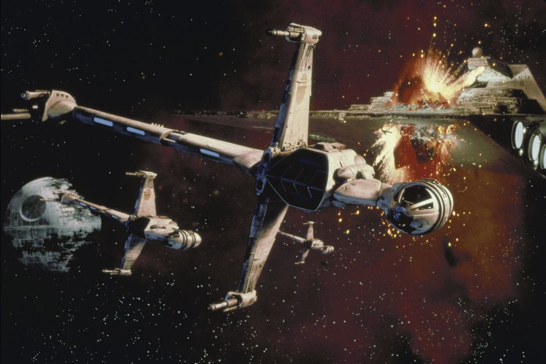 Um den im Bau befindlichen neuen Todesstern zu zerstören, nehmen Leia, Han Solo und Luke erneut den Kampf gegen das Imperium auf ... - Bildquelle: TM & © 2015 Lucasfilm Ltd. All rights reserved.