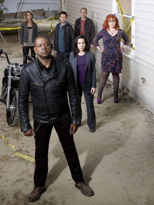 (1. Staffel) - Bringen jeden Täter zur Strecke: Sam Cooper (Forest Whitaker, 2.v.l.), Gina LaSalle (Beau Garrett, l.), Mick Rawson (Matt Ryan, 3.v.l... - Bildquelle: ABC Studios