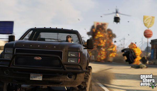 Grand Theft Auto - Bildquelle: dpa