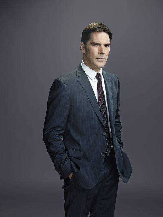 (10. Staffel) - Im Einsatz für die Gerechtigkeit: Special Agent Aaron Hotchner (Thomas Gibson) ... - Bildquelle: Cliff Lipson ABC Studios / Cliff Lipson