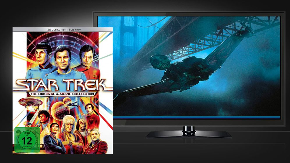Star Trek I-IV - The Original 4-Movie Collection (UHD + Blu-ray) - Bildquelle:  Paramount Pictures