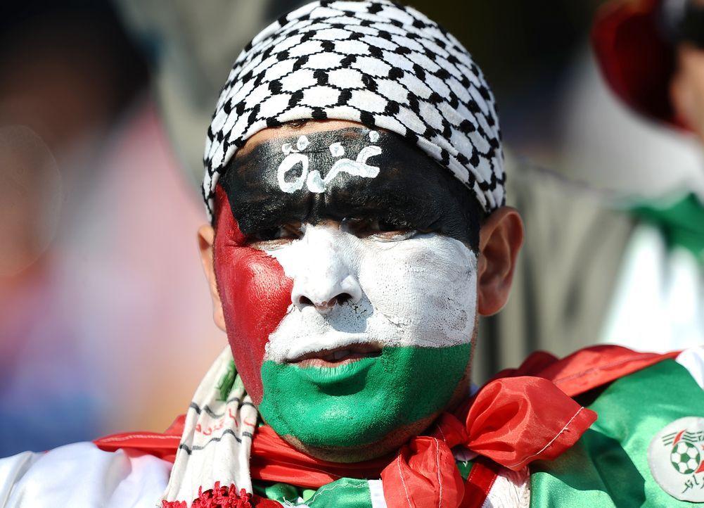 Die auffallendsten Algerien Fans - Bildquelle: Jewel Samad/AFP