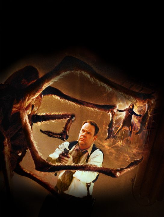 Im Kampf gegen die Spinne des Todes: Detective Jack Grillo (Dan Aykroyd) ... - Bildquelle: 2003 Sony Pictures Television International. All Rights Reserved.