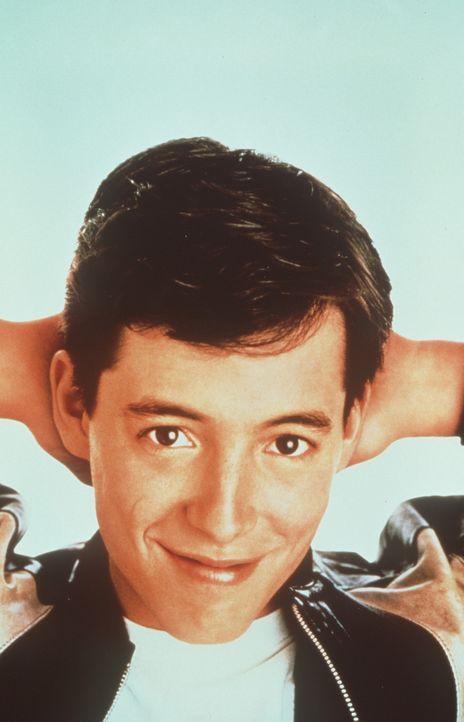 Ferris Bueller (Matthew Broderick) hat sonderbare Vorstellungen vom Leben eines Schülers ... - Bildquelle: Paramount Pictures
