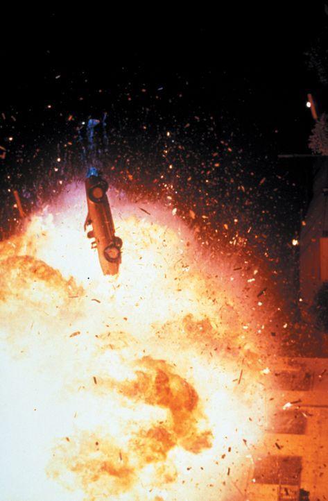 Wo sich das brutale Gangsterpaar Strom und Liesl aufhält, fliegen die Fetzen ... - Bildquelle: Warner Bros.