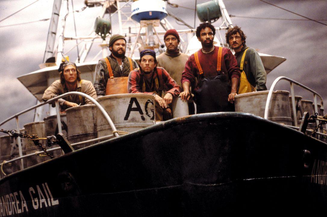 """Starten zu einem Trip ins Verderben: (v.l.n.r.) """"Sully"""" (William Fichtner), Dale (John C. Reilly), Bobby (Mark Wahlberg), Billy (George Clooney), Al... - Bildquelle: Warner Bros. Pictures"""