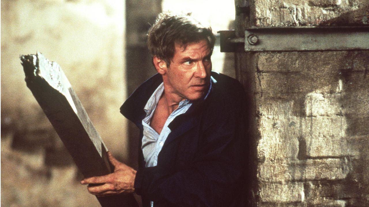 """Harrison Ford in """"Das Kartell"""" (1994) - Bildquelle: Constantin Film"""