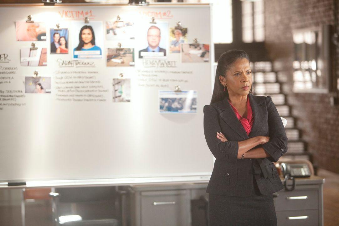 Weiß sie die Arbeit ihres Teams wirklich zu schätzen? Captain Victoria Gates (Penny Johnson) - Bildquelle: 2011 American Broadcasting Companies, Inc. All rights reserved.