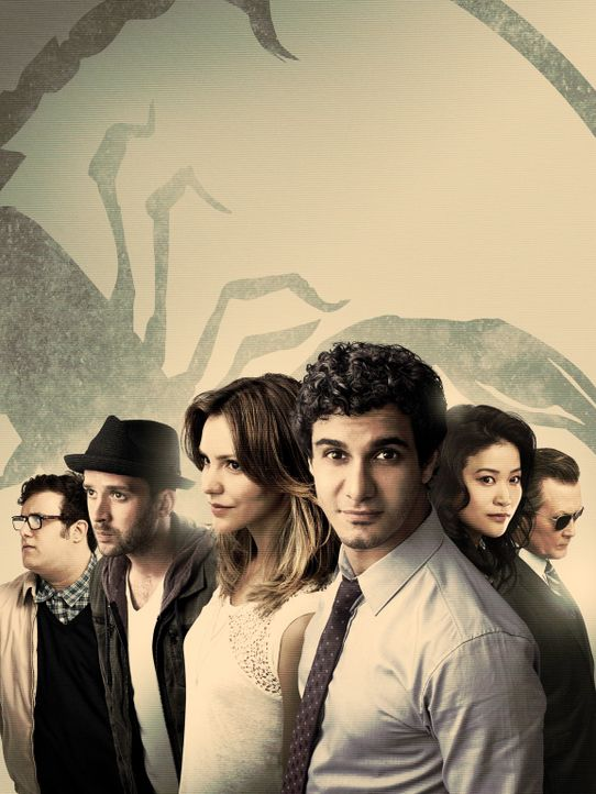 (3. Staffel) - Scorpion - Artwork - Bildquelle: 2016 CBS Broadcasting, Inc. All Rights Reserved.