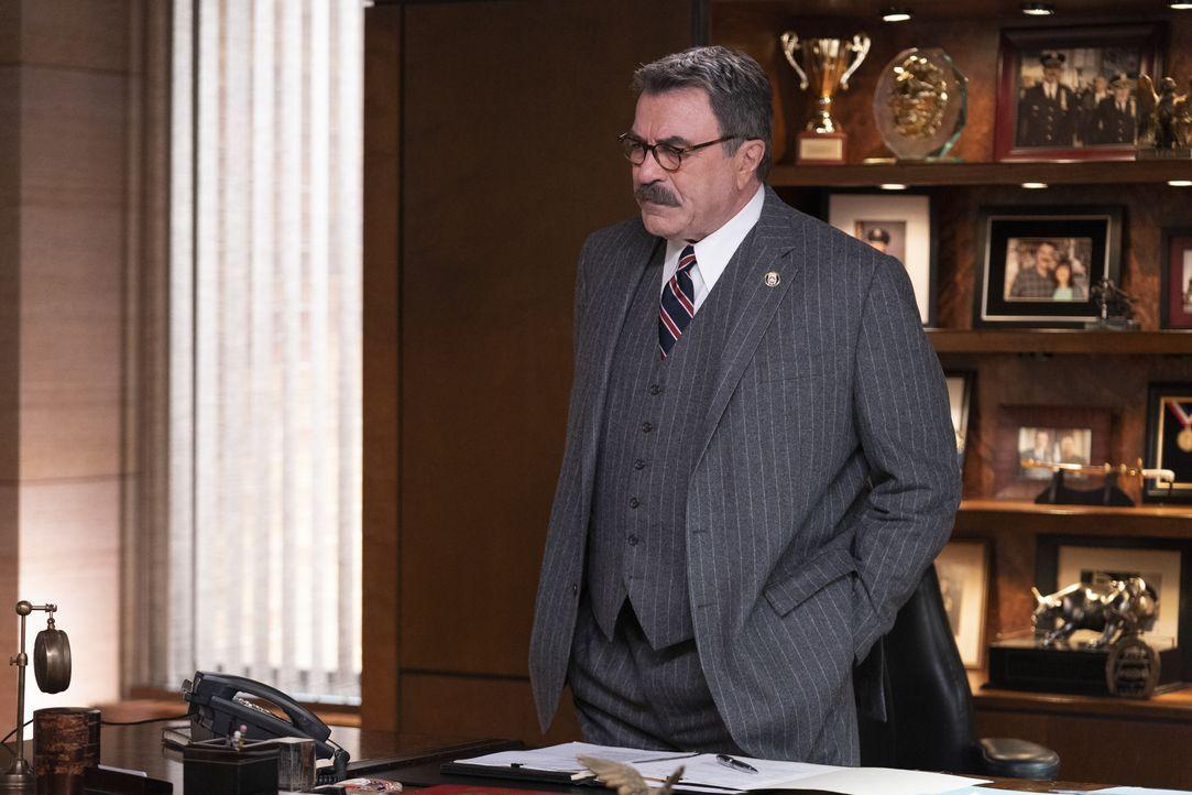 Frank Reagan (Tom Selleck) - Bildquelle: Patrick Harbron CBS '2020 CBS Broadcasting Inc. All Rights Reserved. / Patrick Harbron