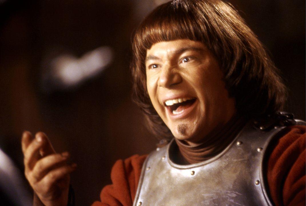"""Ritter Balduin (Michael """"Bully"""" Herbig) liebt das Kartenspiel - nur hält er sich nicht allzu gern an die Regeln ... - Bildquelle: Constantin Film"""
