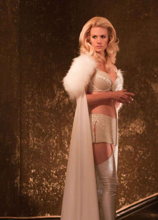 Der eiskalte Sebastian Shaw und die telepathisch veranlagte Emma Frost (January Jones) planen den nuklearen Holocaust, um sich die Weltherrschaft an... - Bildquelle: TM and © 2011 Twentieth Century Fox Film Corporation, All Rights Reserved.