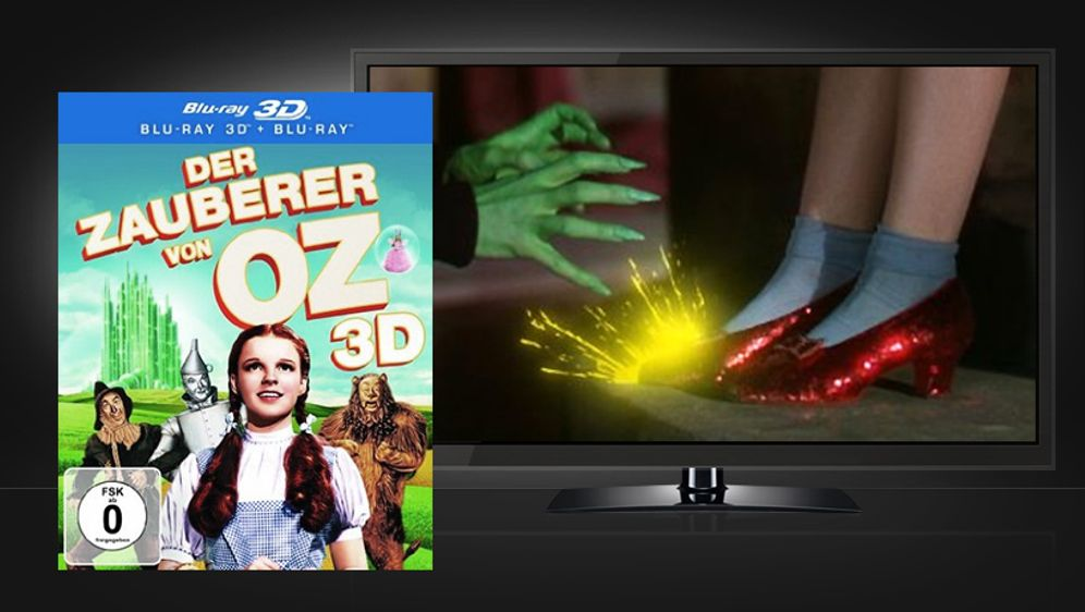 Der Zauberer von Oz (Blu-ray 3D + Blu-ray) - Bildquelle: Warner Home Video