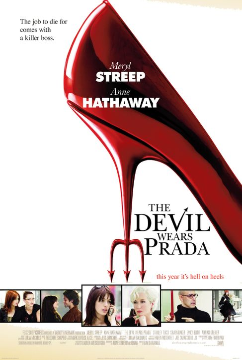 The Devil Wears Prada - Plakatmotiv - Bildquelle: 2006 Twentieth Century Fox