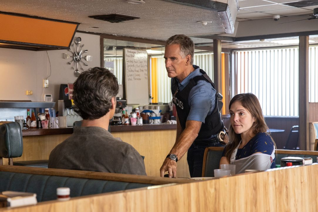 Dwayne Pride (Scott Bakula, m.); Tammy Gregorio (Vanessa Ferlito, r.) - Bildquelle: Sam Lothridge 2019 CBS Broadcasting Inc. All Rights Reserved. / Sam Lothridge