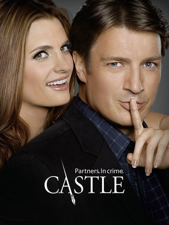(4. Staffel) - Können weder mit noch ohne einander: Richard Castle (Nathan Fillion, r.) und Kate Beckett (Stana Katic, l.) - Bildquelle: ABC Studios