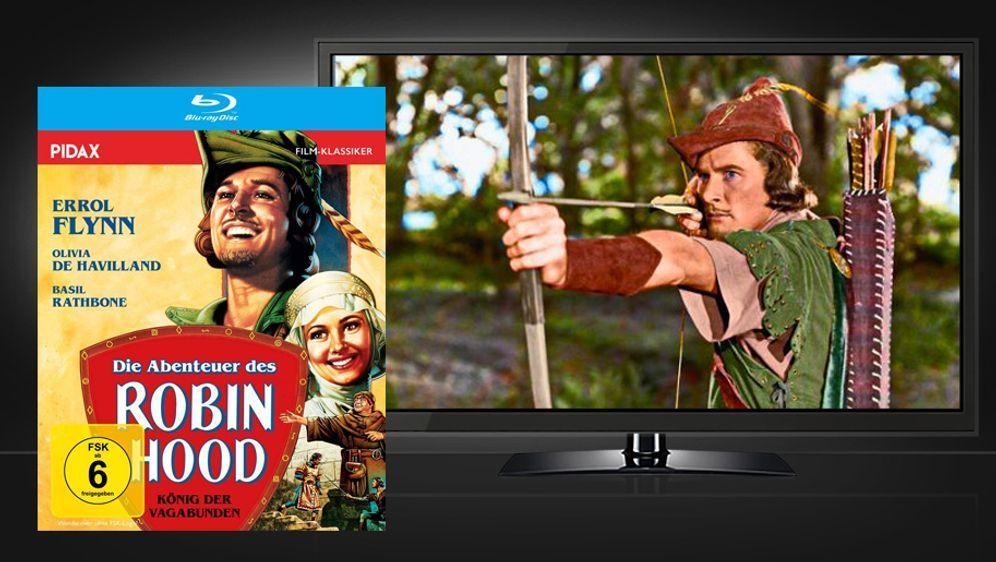 Die Abenteuer des Robin Hood (Blu-ray Disc) - Bildquelle: Pidax