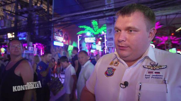 Achtung Kontrolle - Achtung Kontrolle! - Thema U.a.: Touristenpolizist Im Einsatz - Polizei Thailand