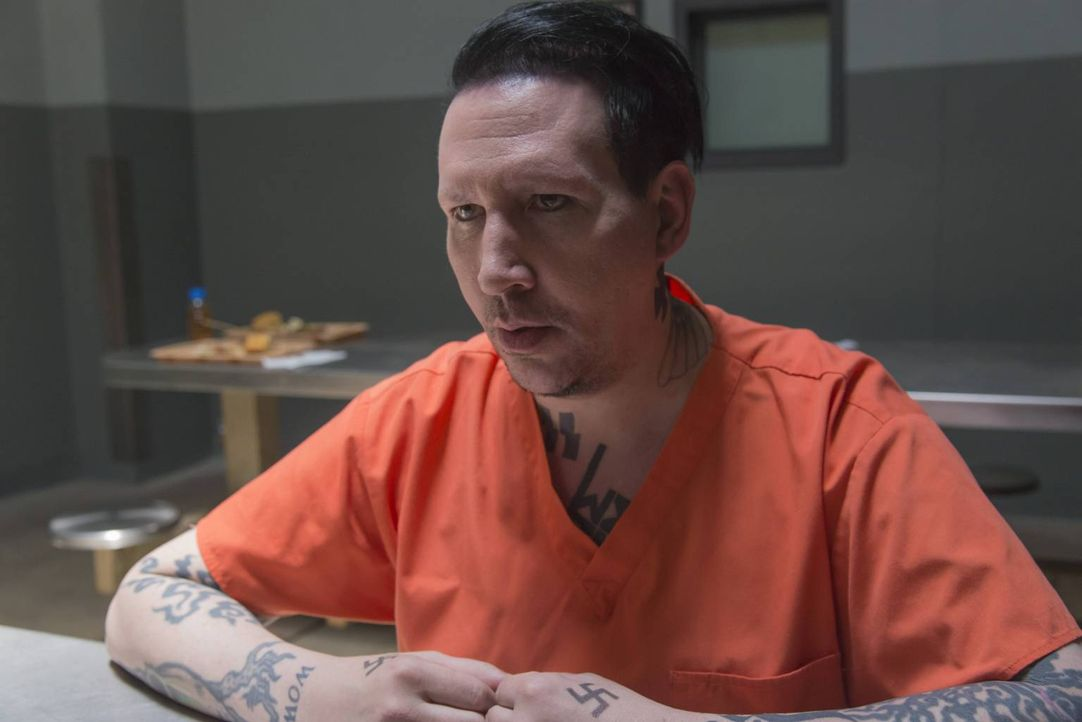 Im Gefängnis trifft Jax Tally (Marilyn Manson), den Führer der rassistischen Aryan Brotherhood, mit dem er eine neue Allianz schmiedet ... - Bildquelle: Prashant Gupta 2013 Twentieth Century Fox Film Corporation and Bluebush Productions, LLC. All rights reserved.