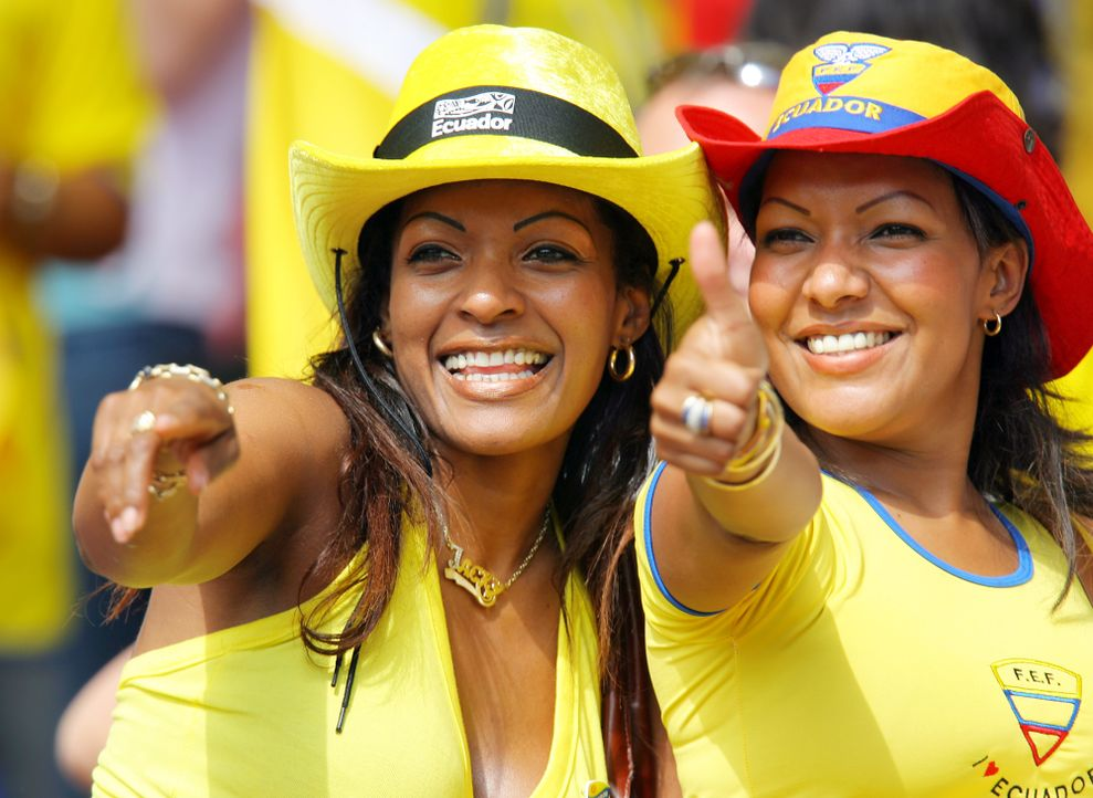 Ecuadorianische Mädels - Bildquelle: dpa