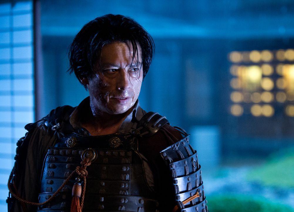 Will seine Schwester möglichst schnell aus dem Weg räumen: Shingen (Hiroyuki Sanada) ... - Bildquelle: Ben Rothstein 2013 Twentieth Century Fox Film Corporation. All rights reserved.