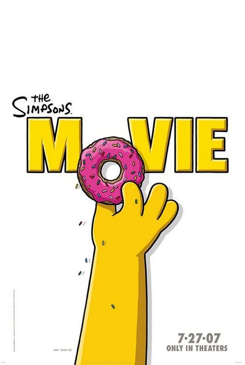 Die Simpsons - Der Film - Logo - Bildquelle: 2007 Twentieth Century Fox Film Corporation