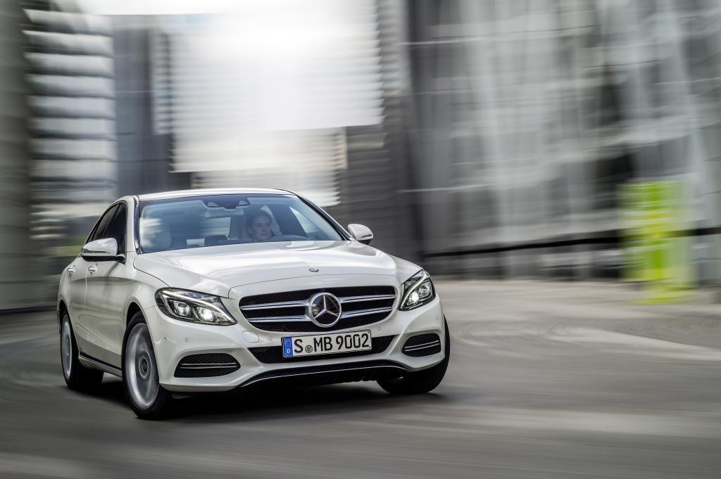 Mercedes-C-Klasse-Front