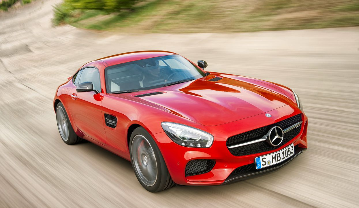 Mercedes AMG GT (4) - Bildquelle: press photo, do not use for advertising purposes