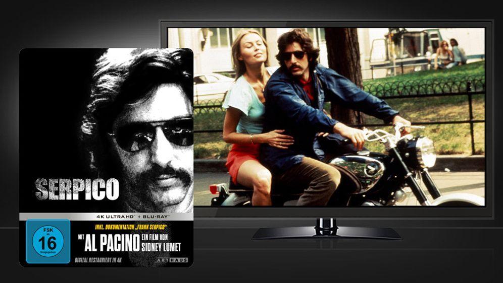 Serpico (4K UHD + Blu-ray Disc) - Bildquelle: Studiocanal