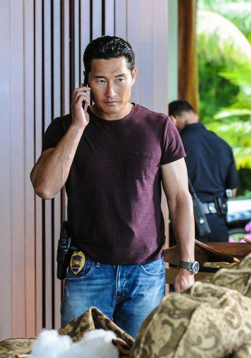 Ein Ehepaar wird in seinem Haus erschossen aufgefunden. Bei den Nachforschungen stößt das Team auf eine ungewöhnliche Verschwörungstheorie und Chin... - Bildquelle: 2013 CBS BROADCASTING INC. All Rights Reserved.