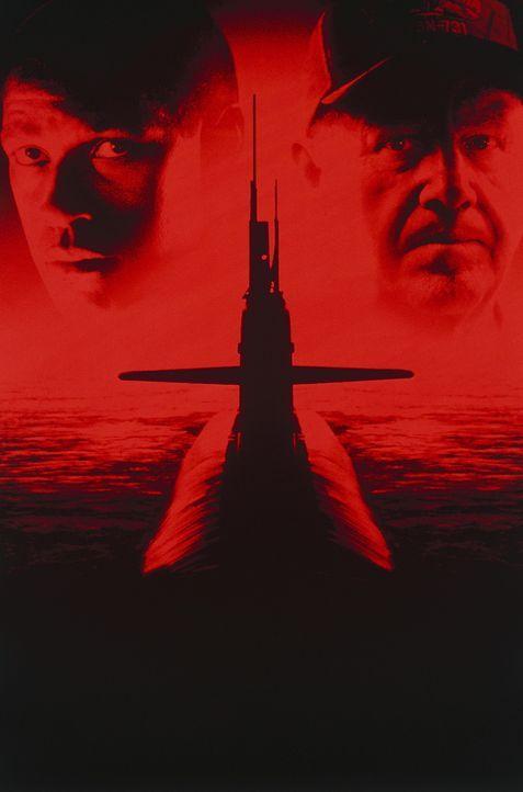 """""""Crimson Tide - In tiefster Gefahr"""" mit Denzel Washington, l. und Gene Hackman, r. - Bildquelle: Buena Vista Pictures"""