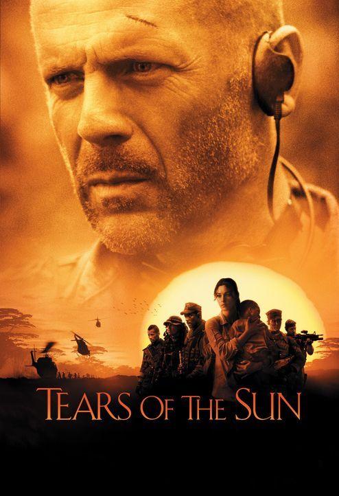 Tränen der Sonne - Plakatmotiv - Bildquelle: 2004 Sony Pictures Television International. All Rights Reserved.