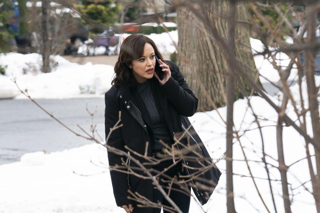 Maria Baez (Marisa Ramirez) - Bildquelle: Patrick Harbron 2020 CBS Broadcasting Inc. All Rights Reserved. / Patrick Harbron