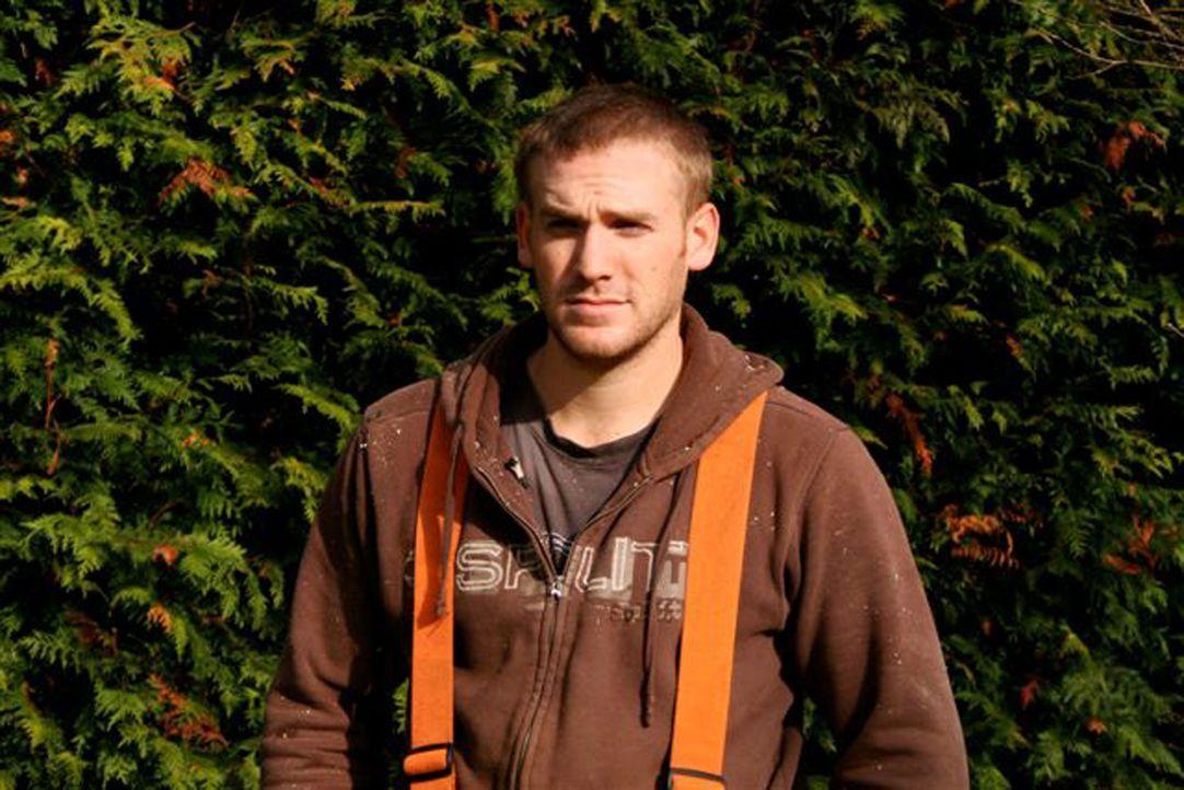 Mitglied eines Heli-Logger-Teams: Wes Fowler - Bildquelle: Patrick Cummings kabel eins