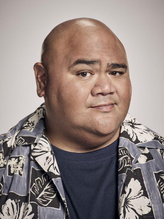 (8. Staffel) - Kamekona Tupuola (Taylor Wily) fungiert als Informant für das Hawaii Five-0-Team und ist außerdem Betreiber des Wailoa Shave Ice, des... - Bildquelle: Justin Stephens 2017 CBS Broadcasting Inc. All Rights Reserved. / Justin Stephens