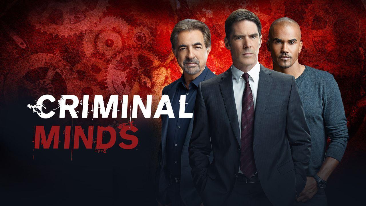 (11. Staffel) - Ein starkes Team, das jeden Serientäter zur Strecke bringt: Derek Morgan (Shemar Moore, r.), Aaron Hotchner (Thomas Gibson, M.) und... - Bildquelle: ABC Studios